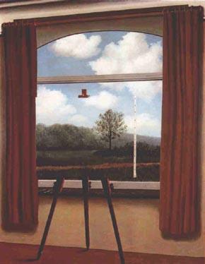 Magritte de la pens e visible exclusivement visible for Rene magritte le faux miroir